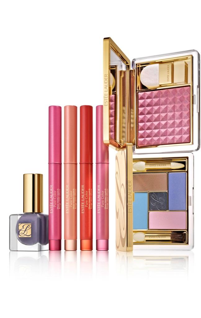 Este_e_Lauder_Pure_Color_Spring_13_Pretty_Naughty_Collection_Group_Shot