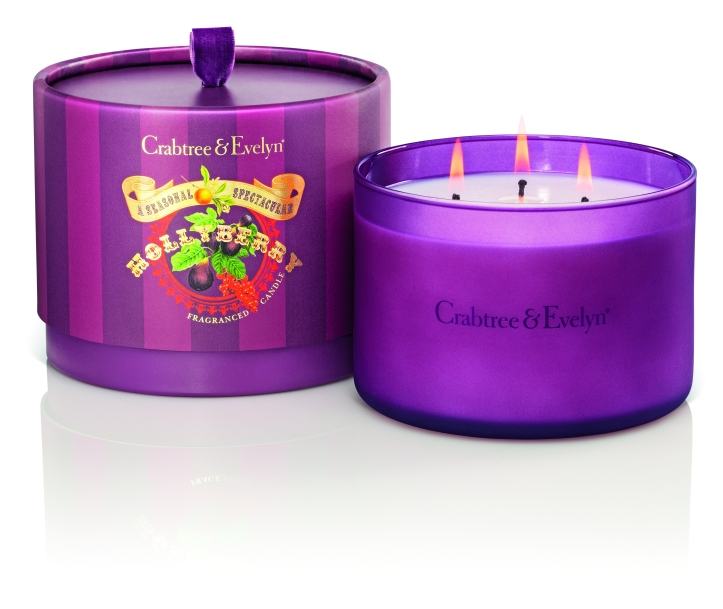 Hollybery Large 3-Wick Fragance Candle