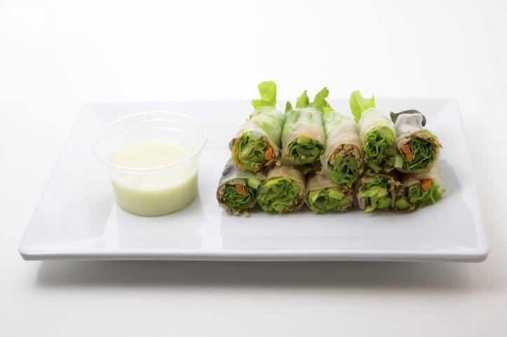 Rollitos verdura
